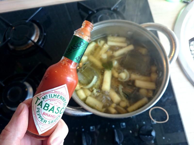 zupa szparagowo-karczochowa