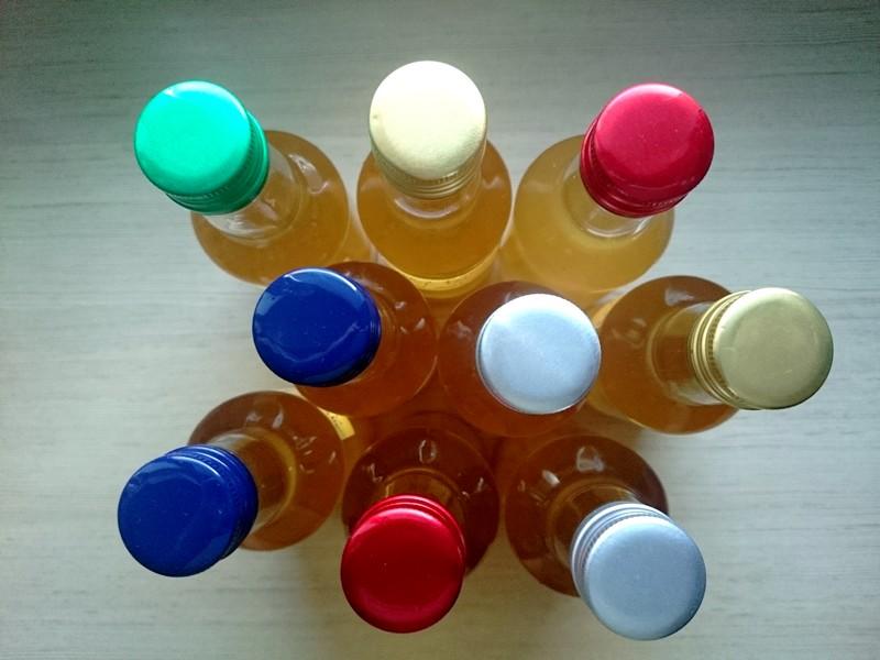 syrop z bzu - butelki