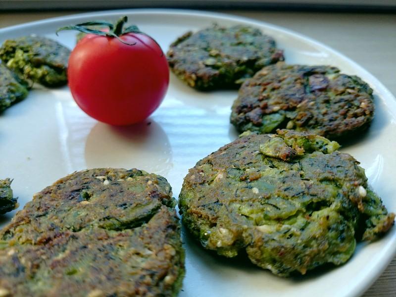 zielone falafele