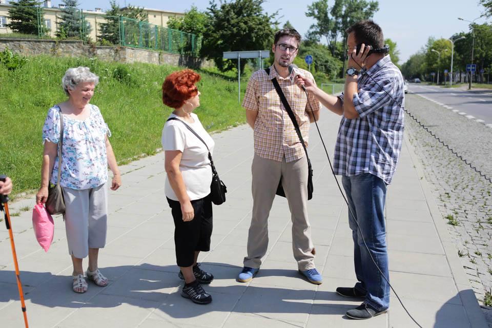 spacer z Radiem Kielce