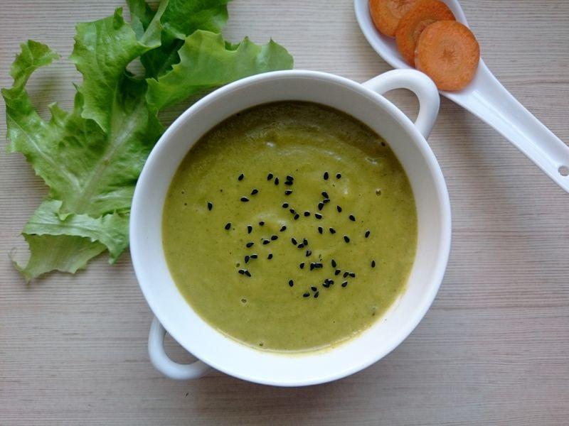 zupa sałatowa