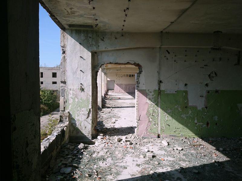kozłów ruiny