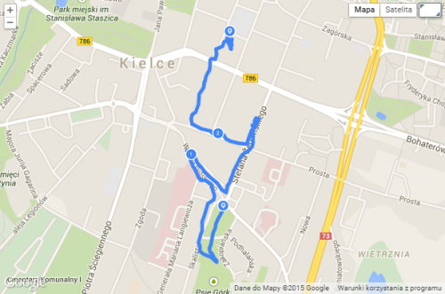 mapka 11 spacer