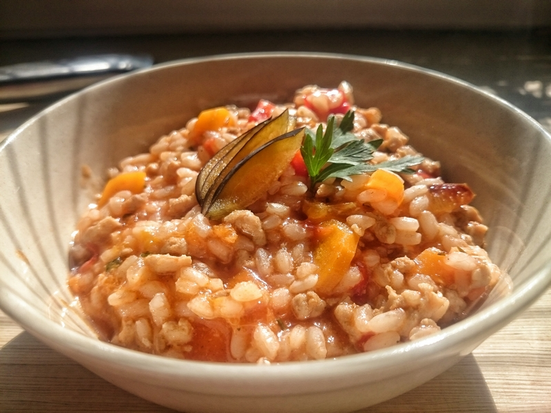 Risotto pomidorowe