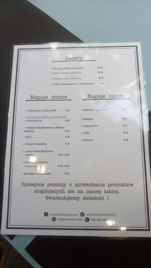 makaroniarnia & more kielce