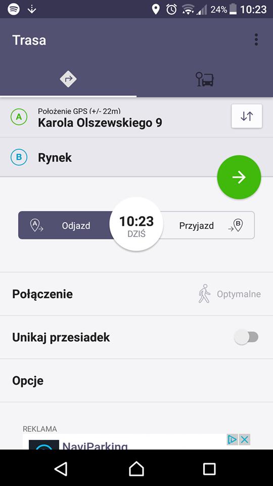 Jak dojadę Kielce