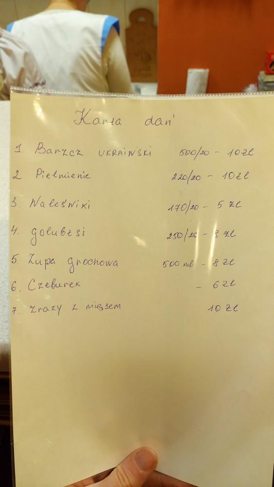 Kuchnia Ukraińska W Kielcach Tymrazempl Podróże Smaki