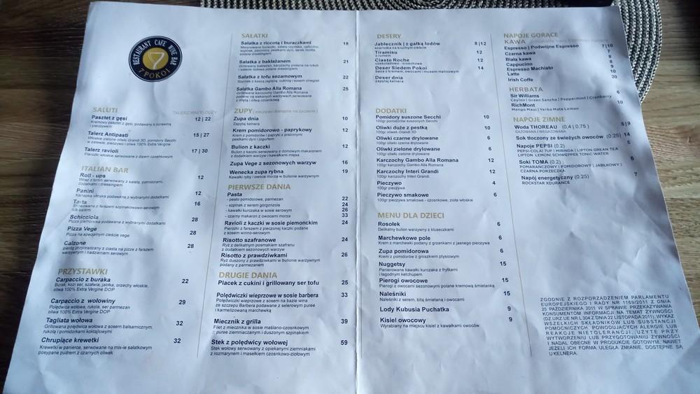 Restauracja Siedem Pokoi Kielce