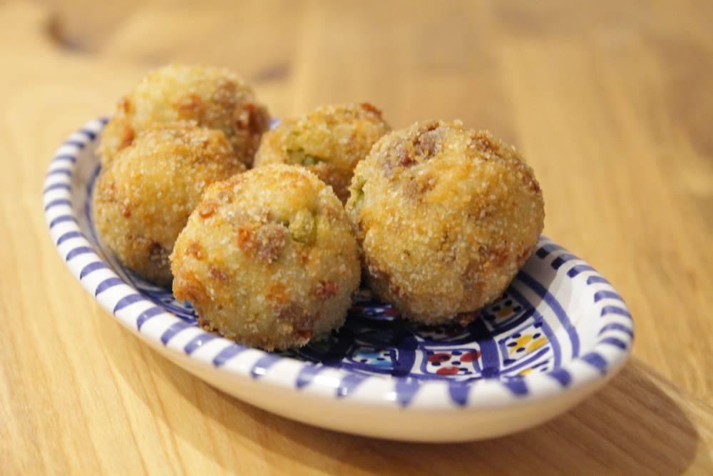 arancini - włoskie kulki ryżowe