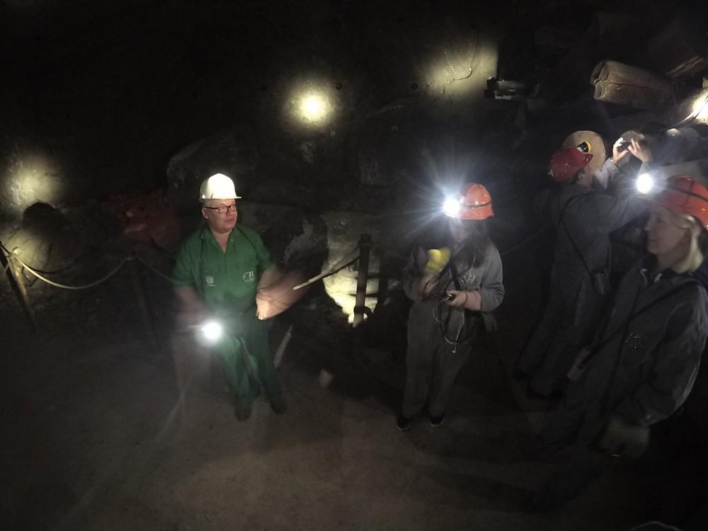 Wieliczka - trasa górnicza