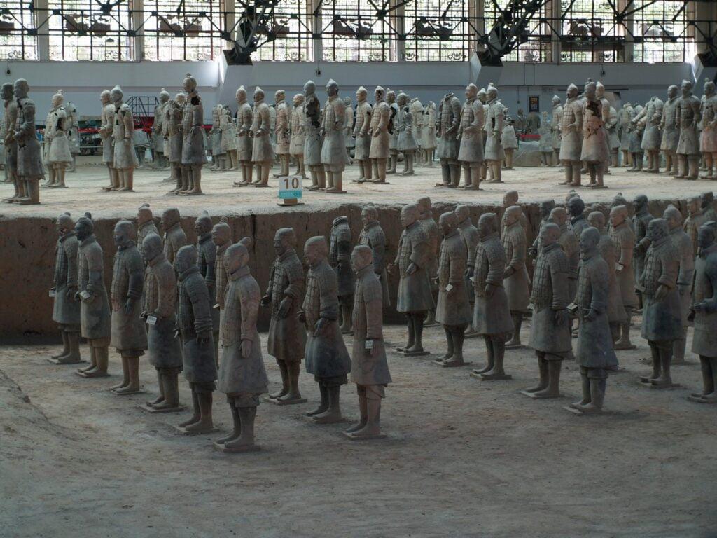 Armia terakotowa - Xi'an