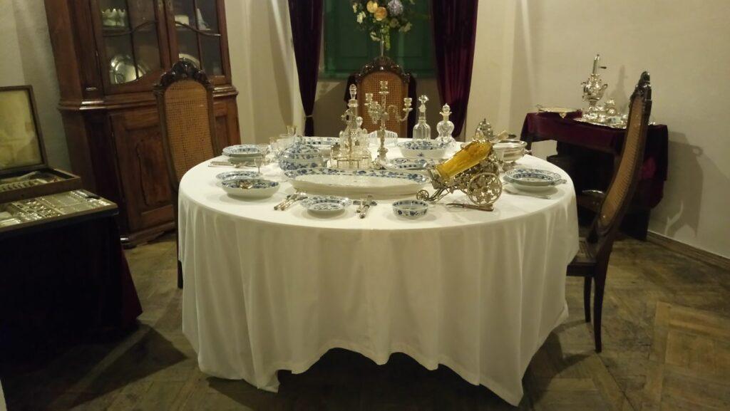 O stołach i bankietach pańskich