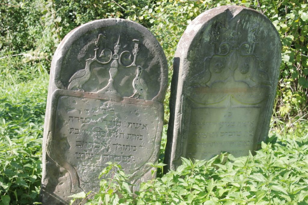 Jewish cemetery in Bodzentyn