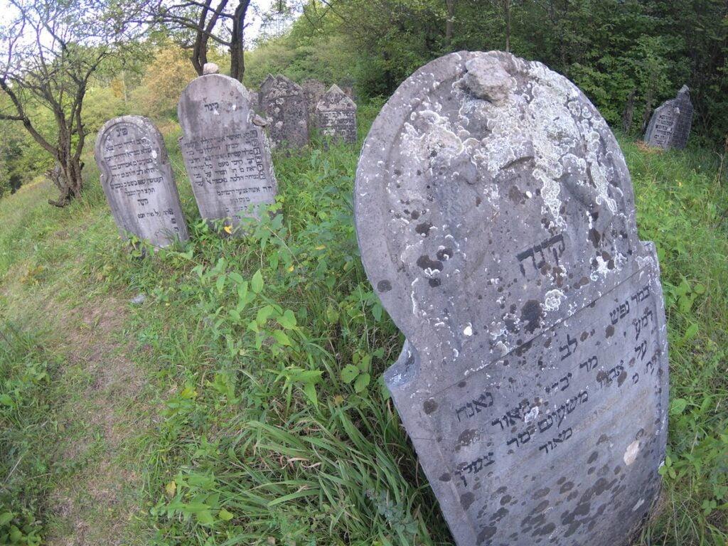 Chęciny - cmentarz żydowski