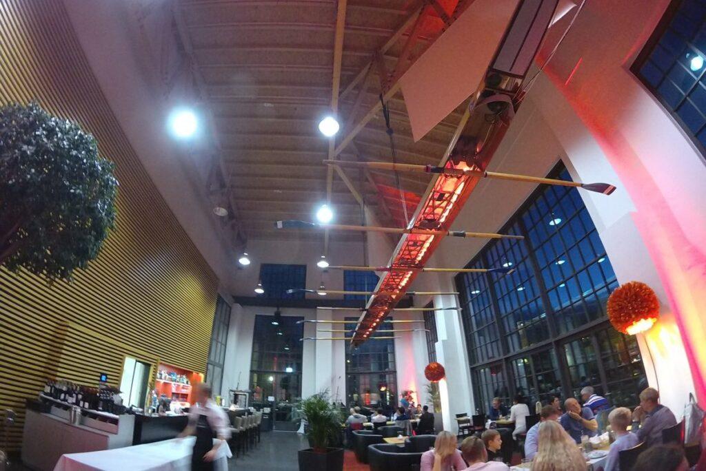 Restauracja Werft - wnętrze