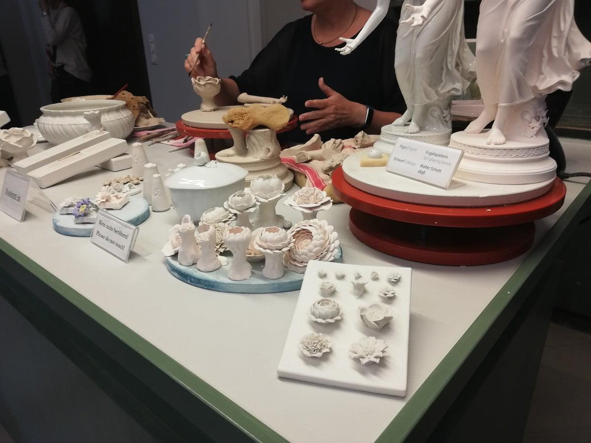 Muzeum Porcelany w Miśni - warsztat