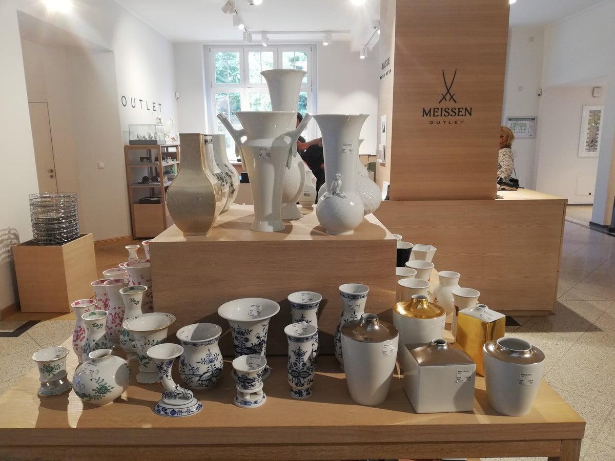 Muzeum Porcelany w Miśni - sklep
