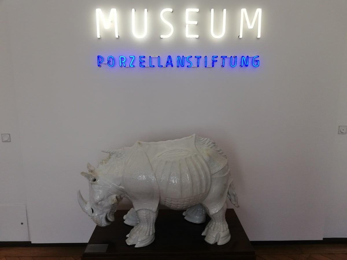 Muzeum Porcelany w Miśni - strażnik muzealny