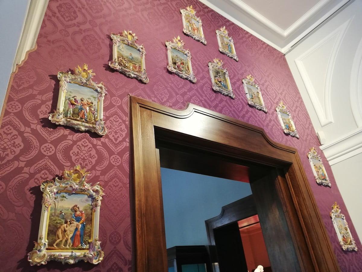 Muzeum Porcelany w Miśni - piękny wystrój