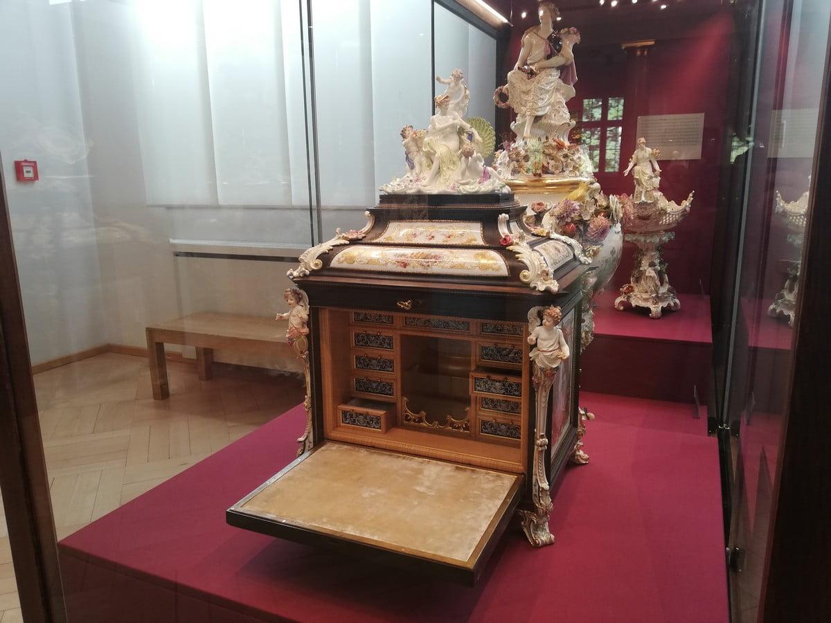Muzeum Porcelany w Miśni - eksponaty