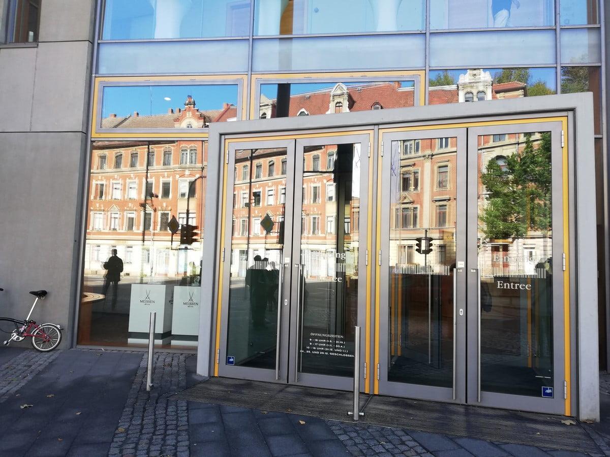 Muzeum Porcelany w Miśni - główne wejście