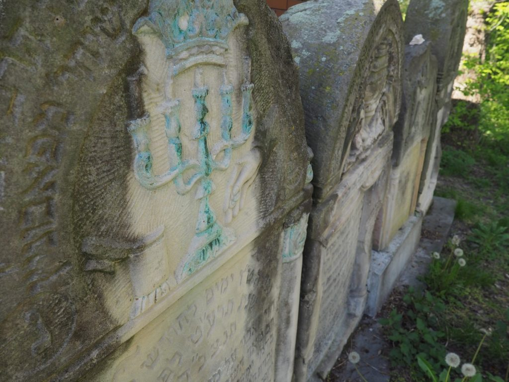 cmentarz żydowski w Ożarowie