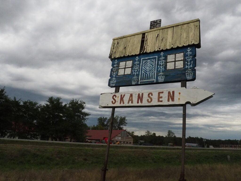 Skansen w Maurzycach