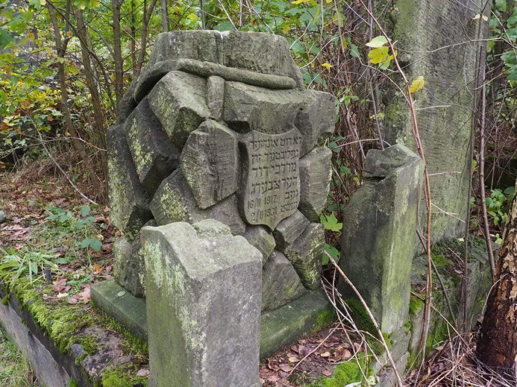 ccmentarz żydowski w Radomsku