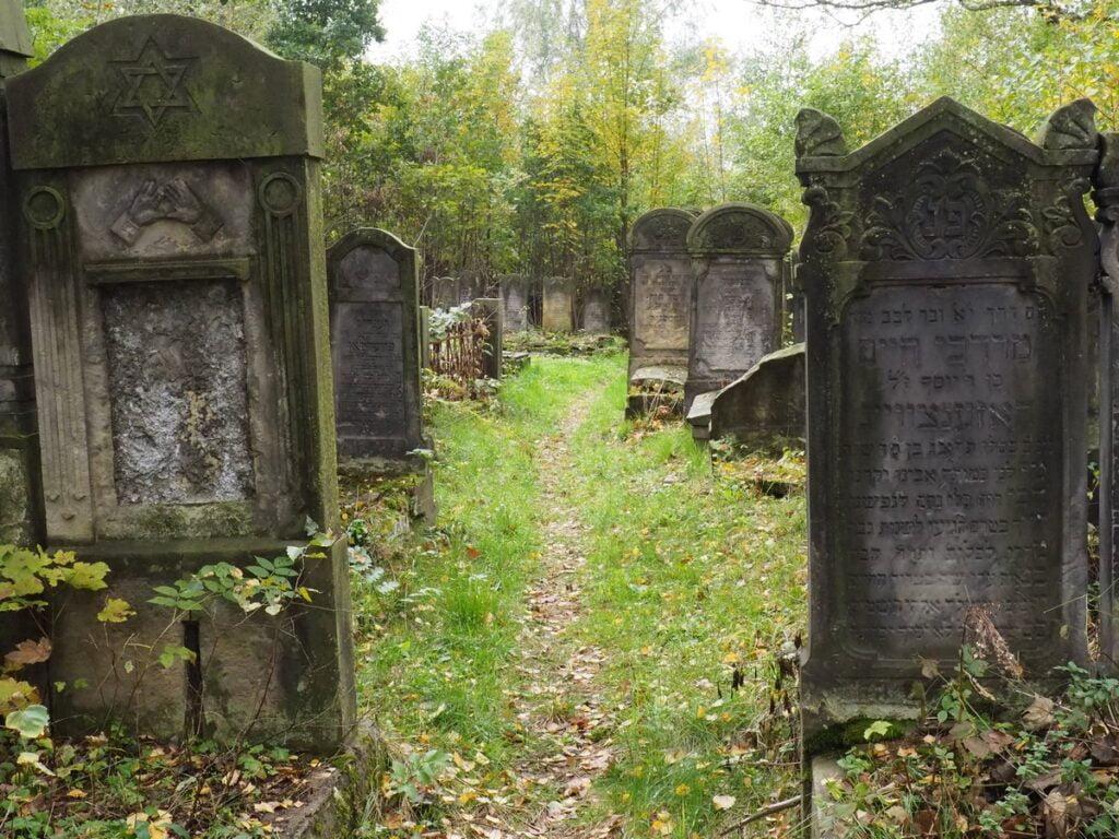 cmentarz żydowski w Radomsku